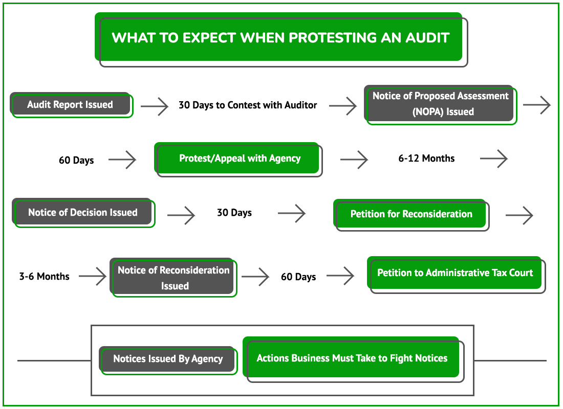 Protesting an Audit